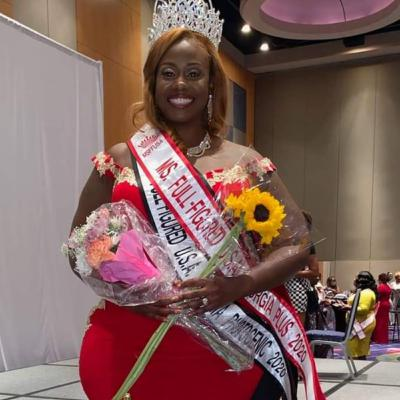 Morning Machine with Ms Full-Figured Georgia 2020 Kenya Braswell-Thomas