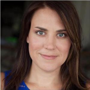 Jennifer Bassett Dean w/ A.D. Players