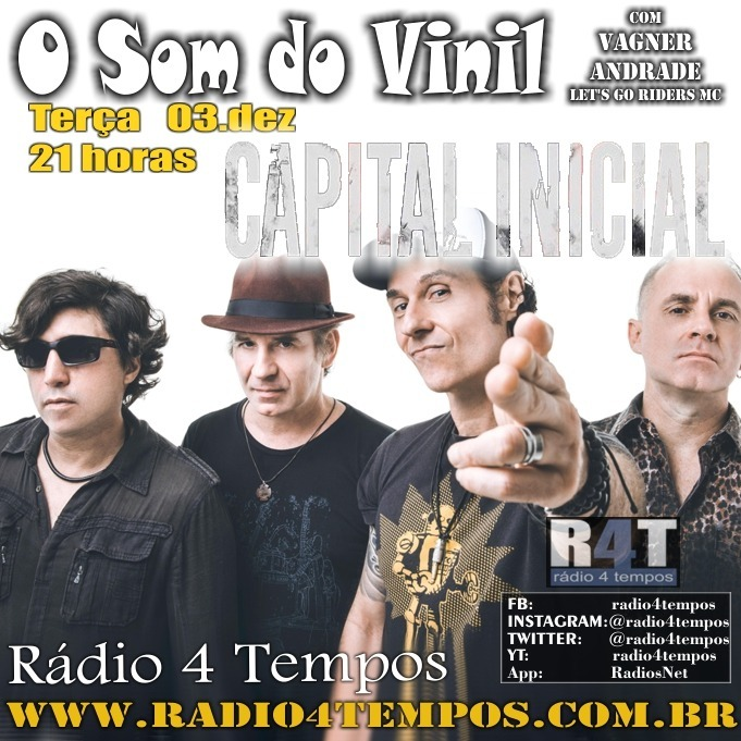 Rádio 4 Tempos - Som do Vinil 23:Rádio 4 Tempos