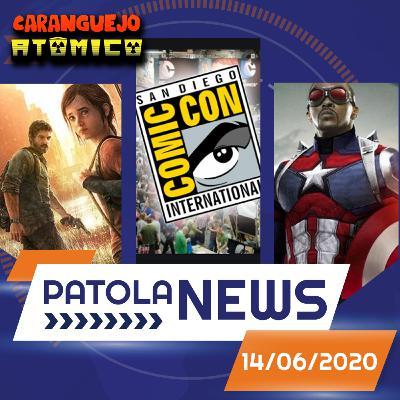 PATOLA NEWS 14/06/2020 | Comic Con, The Last of Us na HBO e Falcão e o Soldado Invernal