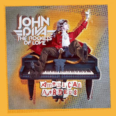 213Rock Harrag Melodica Podcast Live Interview with John Diva and The Rockets of Love New album American Amadeus  25 01 2021