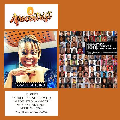 15 tech Founders who made it to 100 most influential Young Africans 2020
