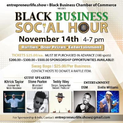 Black Business Social Hour Event
