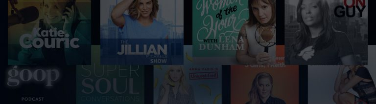 top female celebrity podcasts