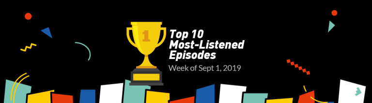 Top-listened episode