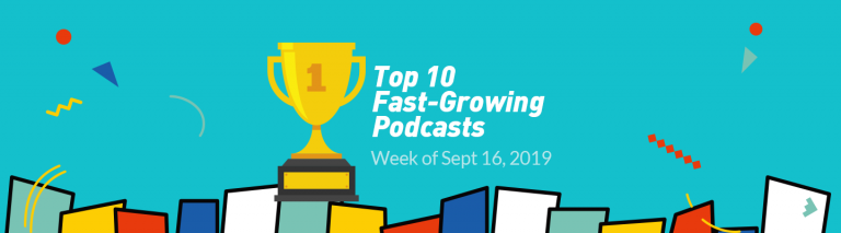 Top 10 Fast-Growing Podcasts on Castbox