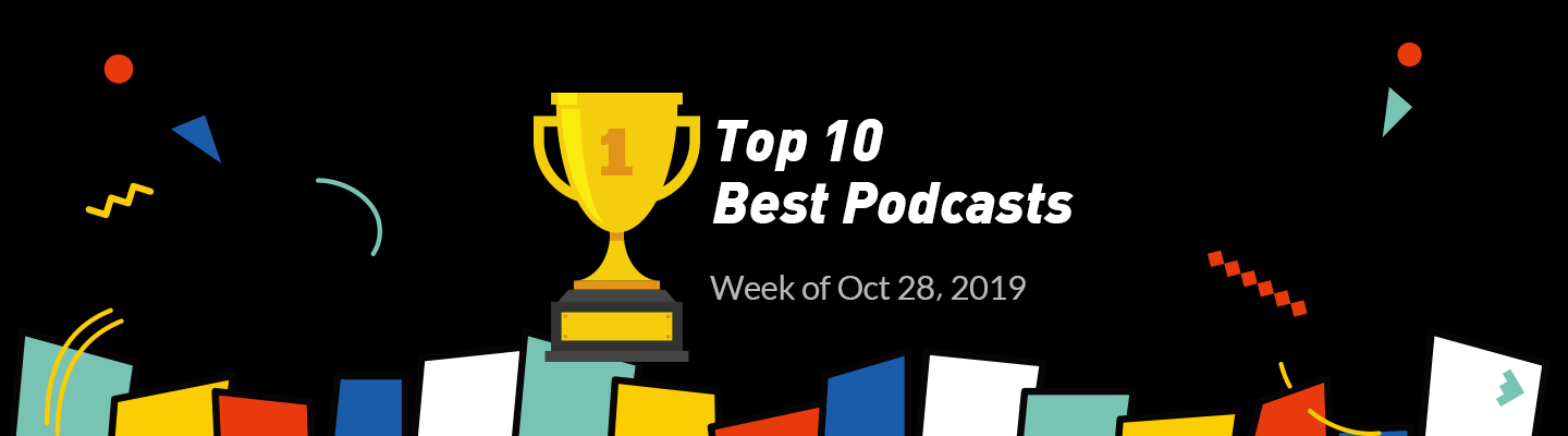 top podcasts banner